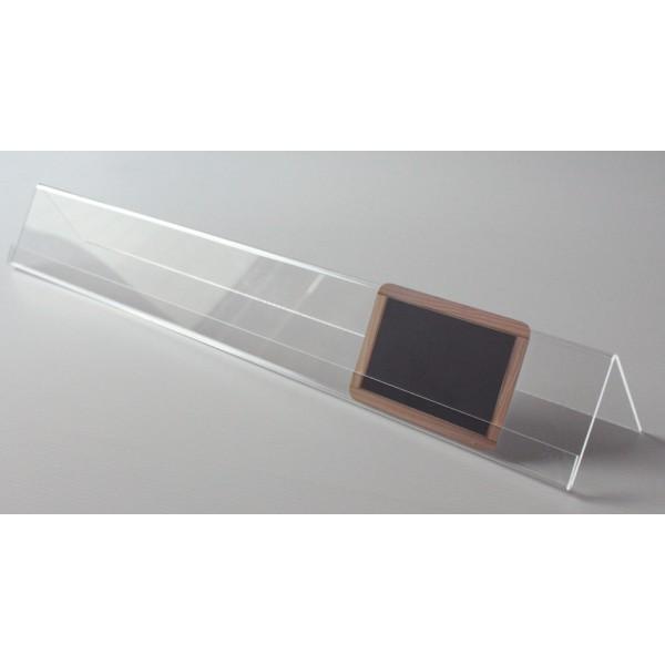 Réglette support plexi - 50 cm