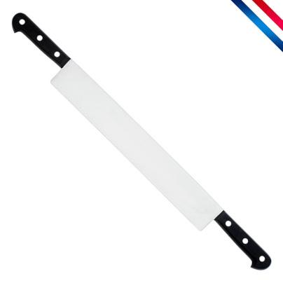 Couteau Fromage 50 cm 2 mains manche noir ABS 3 rivets (Au Nain)