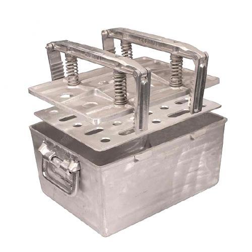 Daubière Aluminium 18 pieds (entiers) - 420x320x200 mm
