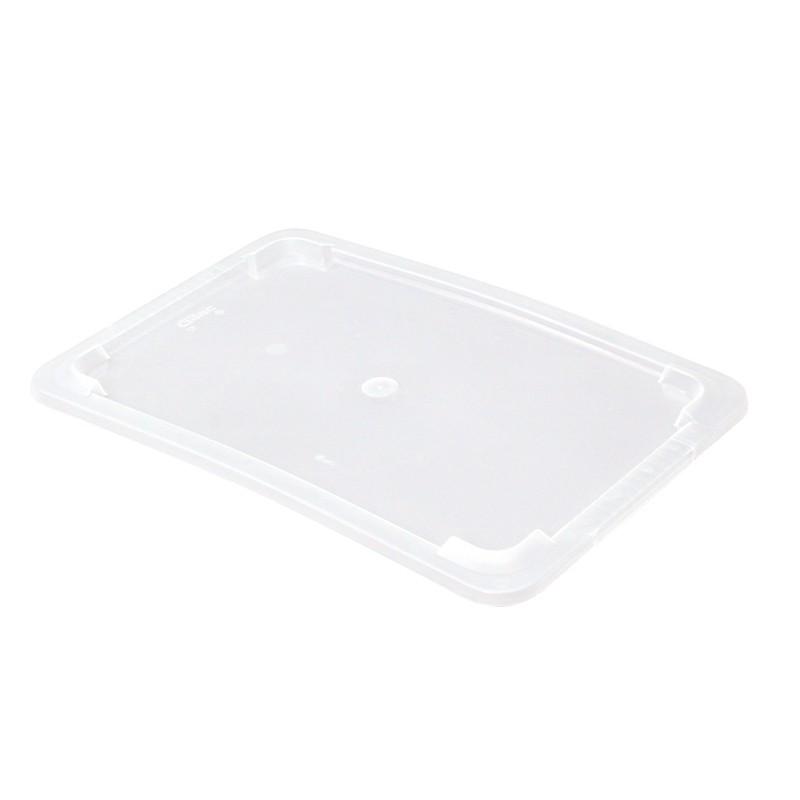 Couvercle 5 L PP Transparent - 445x290x8 mm (Gilac)