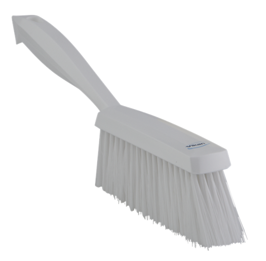 Balayette fibre souple 350x40x85 mm - Blanc