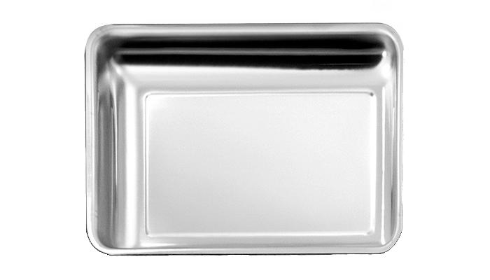 Plat Inox 300x210x40 mm - Vitrine Inox 18%