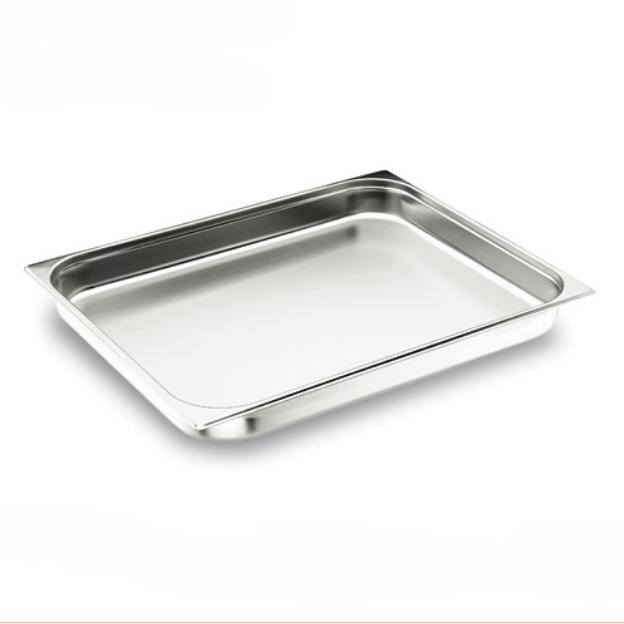 Plat Inox 650x530x20 mm - Four Inox 18/10 - Gastronorm 2/1