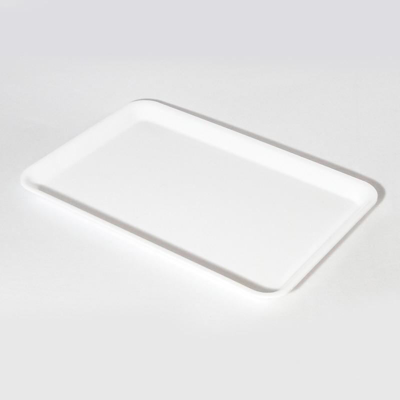 Plat Plexi blanc - 360x250x17 mm
