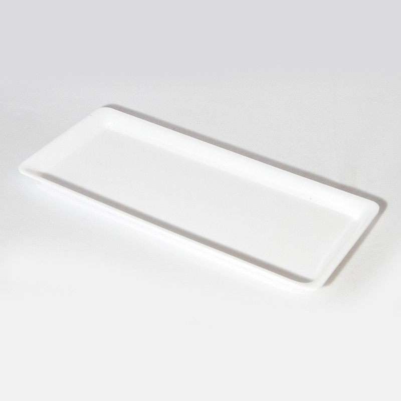 Plat Plexi blanc - 410x210x17 mm