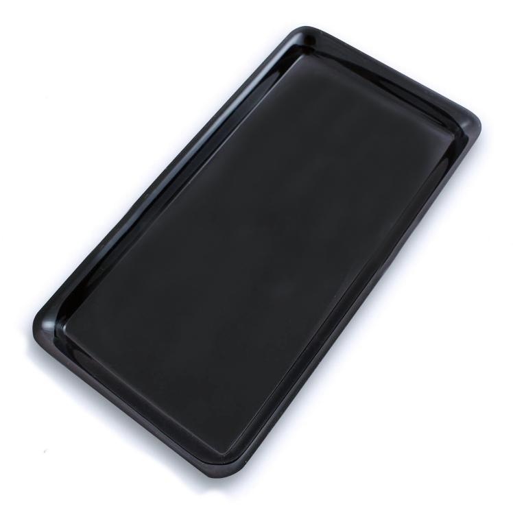 Plat Plexi noir - 300x160x17 mm