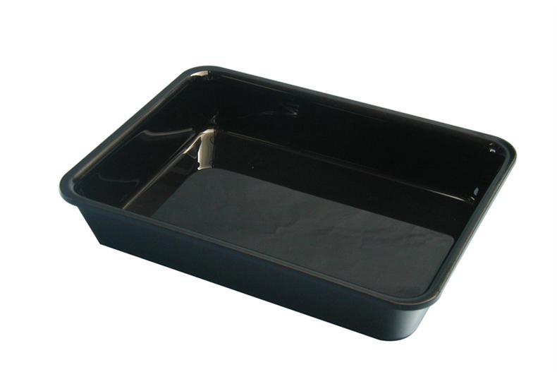 Plat Plexi noir - 280x210x50 mm