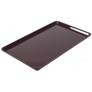 Plat Plexi bordeaux - 265x200x17 mm - Gastronorm 1/5