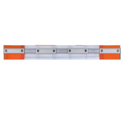 Rideaux fixes Positif ou Négatif - Bandeau Largeur 3790 mm avec Recouvrement 40 % en lanière 190x2 mm